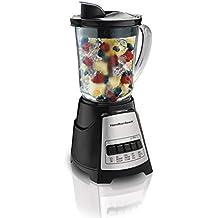 Hamilton Beach 58148 Power Elite Multi-Function Blender with Glass Jar (58148A), OSFA, Black