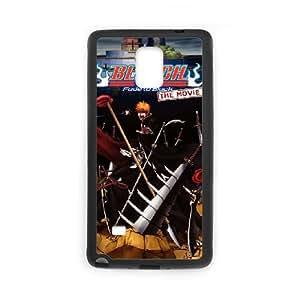 Bleach Fade To Alta Resolución Negro Cartel Samsung Galaxy Case Nota 4 del teléfono celular funda Negro caja del teléfono celular Funda Cubierta EEECBCAAH76683