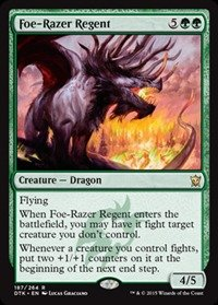 Magic The Gathering - Foe-Razer Regent (167/264) - Dragons of Tarkir