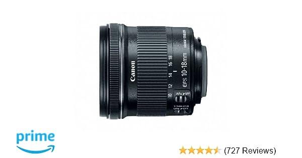 Canon EF-S 10-18mm f/4 5-5 6 IS STM Lens