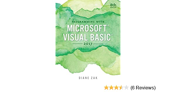 Programming with Microsoft Visual Basic 2017 (MindTap Course