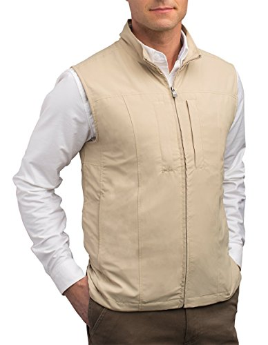 SCOTTeVEST Men's Travel Vest - 24 Pockets Travel Clothing