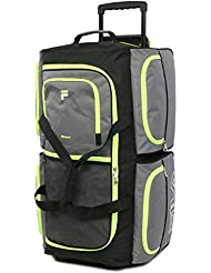Luggage 30 7 Pocket Large Rolling Duffel Bag