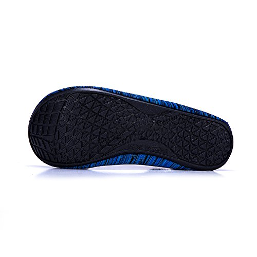 Agua de blau Unisex Calzado Agua de Piscina Color LK Rápido de Soles Secado Xhw Natación Playa Zapatos Zapatos Respirable de LEKUNI de wSWaFI