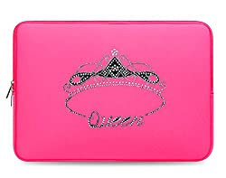 Crystal Rhinestone Studded Multi-Color Laptop Case