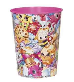 Shopkins Collect Plastic Cup 16oz [Contains 12 Manufacturer Retail Unit(s) Per Amazon Combined Package Sales Unit] - SKU# 42917
