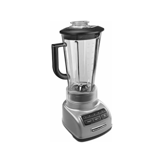 KitchenAid KSB1575 5-Speed Diamond Blender with 60-Ounce BPA-Free Pitcher 5 The diamond blending system ensures that all ingredients blend together quickly and efficiently The Intelli-Speed Motor Control senses contents and maintains optimal speed to power through all ingredients Stir, chop, mix, puree or liquify. Pulse mode works with all speeds for staggered blending