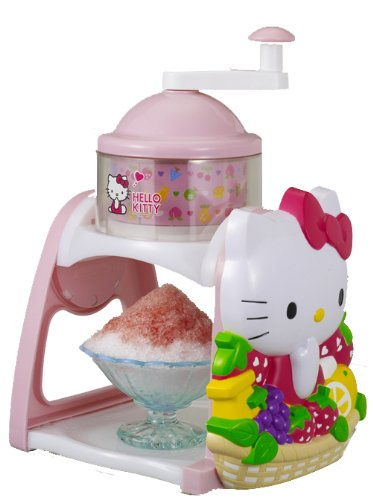 Hello Kitty Shaved Ice Machine(japan Import)