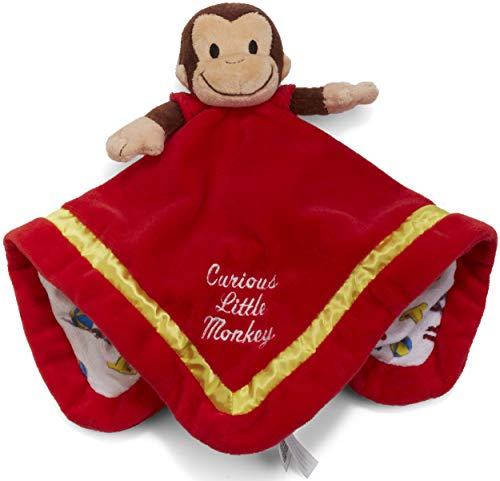 Kids Preferred Curious George Blanky Plush, 12