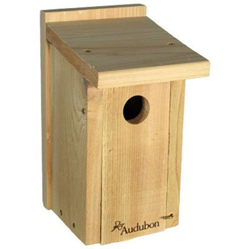 Bluebird Nest Box - Woodlink NABB Audubon Cedar Bluebird House