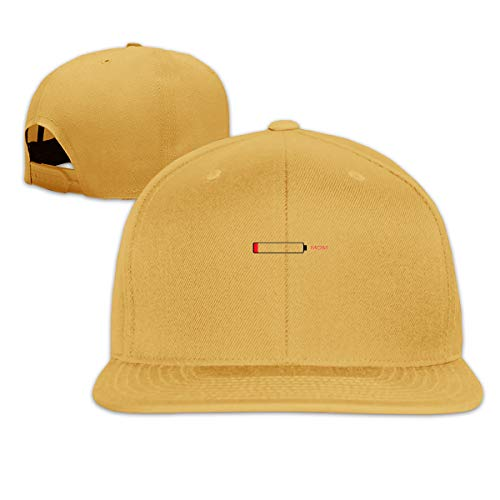 Volunteer Unisex Fashion Mom Baseball Caps Buckle Design Adjustable Trucker Hat - Yellow Fitted 59fifty Hat