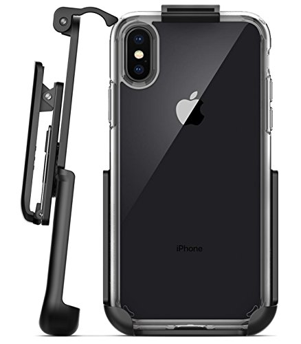 Encased Belt Clip Holster for Spigen Ultra Hybrid Case – iPhone X (case not included)