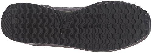 Adidas Originals Men's ZX 700 Fashion Sneaker, Utility Black/Metallic Silver-Sld/Black, 13 M US