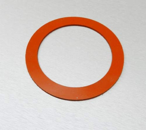 SILICONE RUBBER GASKETS FOR VACUUM PERFORATED FLASKS for sale  Delivered anywhere in USA