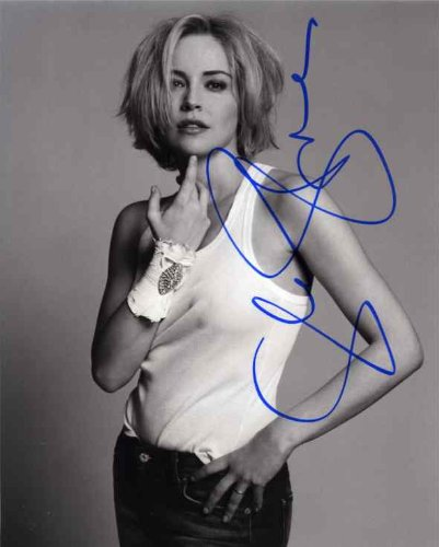 Very Nice Signed - Sharon Stone Very Nice Signed 8x10 Photo Certified Authentic PSA/DNA COA