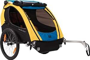 Burley Design Bee - Remolque para bicicleta, color azul