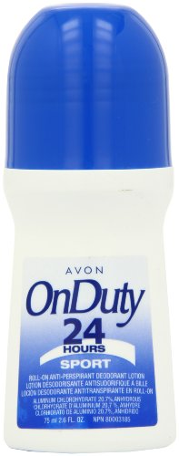(Avon Deodorant Bonus Size Pack of 12 (ON DUTY 24H SPORT))