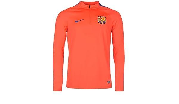 Nike FC Barcelona (formación superior Mens rojo/Royal camiseta de ...
