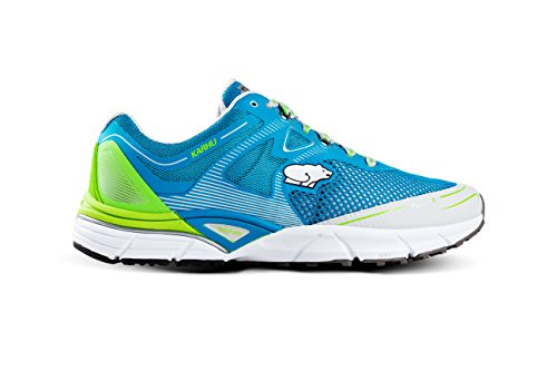 Karhu , Chaussures de course pour homme Multicolore blue jewel/jasmine green ,pointure ( us 11)