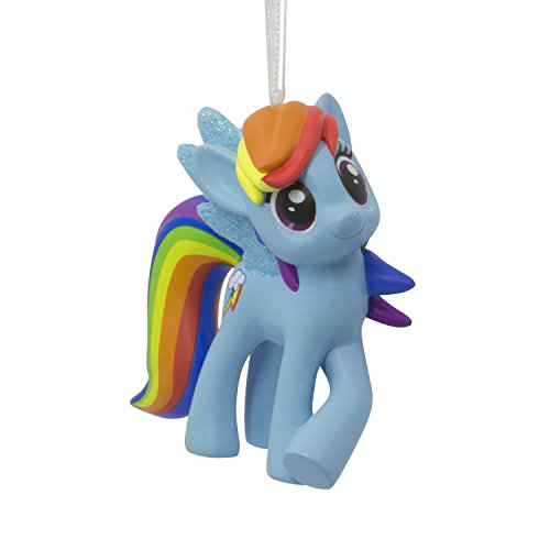 (Hallmark Christmas Ornament Hasbro My Little Pony Rainbow Dash)