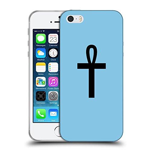 GoGoMobile Coque de Protection TPU Silicone Case pour // Q08430609 Religion 7 Bébé bleu // Apple iPhone 5 5S 5G SE