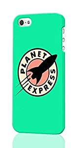 meilinF000Planet Express - Futurama Pattern Image - Protective 3d Rough Case Cover - Hard Plastic 3D Case - For ipod touch 5meilinF000