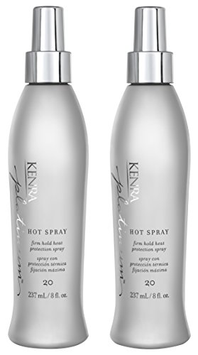 Price comparison product image Kenra Platinum Hot Spray #20, 55% VOC, 8-Ounce (2-Pack)