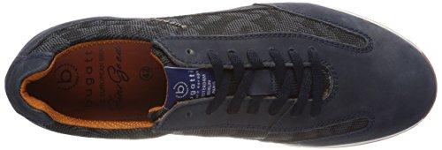 Bugatti 311450031569, Scarpe da Ginnastica Basse Uomo Blu (Dark Blue/ Black)