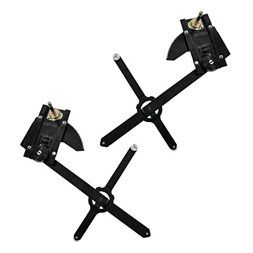 Manual Window Regulators Front Pair Set for Chevy C10 Truck K10 Truck K20 Truck Blazer Full Size C20 Truck C30 Truck GMC C1500 Truck K2500 Truck (Truck 1986 Gmc)