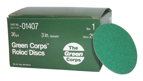 3M 01407 Green Corps Roloc Green Disc by 3M