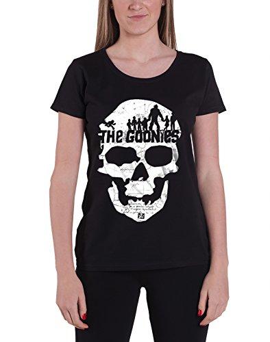 Goonies T Shirt Skull new Official Womens Junior Fit Black -