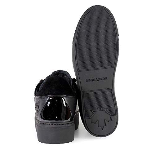 Autunno Inverno Scarpe Canadese Da Sneaker Donna 2019 Dsquared2 Nero Squadra 808q7