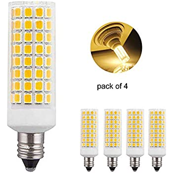E11 Led Bulb 75w 100w Halogen Bulbs Replacement Jd T4 E11 Mini Candelabra Base 110v 120v 130