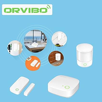 Paleo Orvibo kit de sistema de casa inteligente sensor de control remoto ventana de la puerta