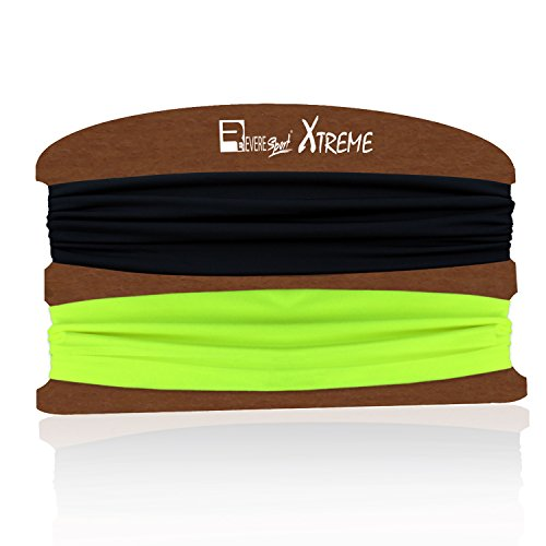 Yoga Headbands for Running, Fitness, Gym Workouts & Outdoor Sports . Non-Slip Sweat Wicking, Stretchy & Secure Sweatbands for Men and Women. Crossfit, Exercise, Runners, Cycling.