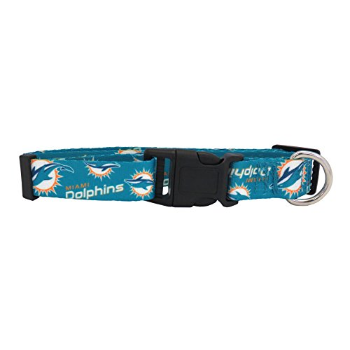 NFL Miami Dolphins Team Pet Collar, Medium
