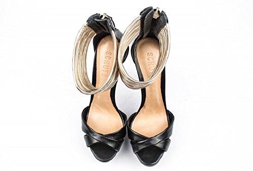 sandali alti con tacco