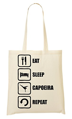 Graphic Eat À Funny Tout CP Sleep Provisions Capoeira Repeat Sac Sac Black Fourre PSqnHwYd