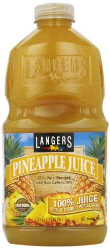 Langer Juice Company Pineapple Juice with Vitamin C, 64 oz by Langer's