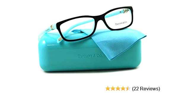 af665de57b7 Amazon.com  Tiffany   Co. TF2036 Eyeglasses Top Black Blue (8055) TF ...