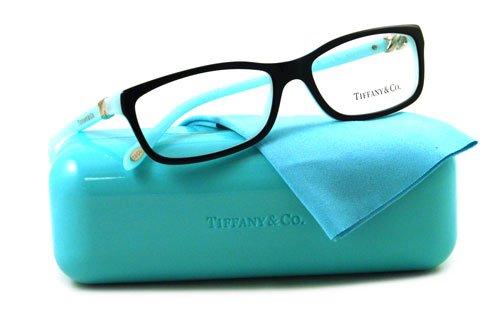 Amazon.com: Tiffany & Co. TF2036 Eyeglasses Top Black/Blue (8055) TF ...