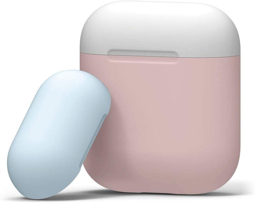 CAOQAO - Carcasa de Silicona para Apple AirPods (antigolpes e ...