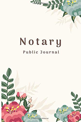 Pdf Money Notary Public Journal: 100 Entry Notary Record Log Book
