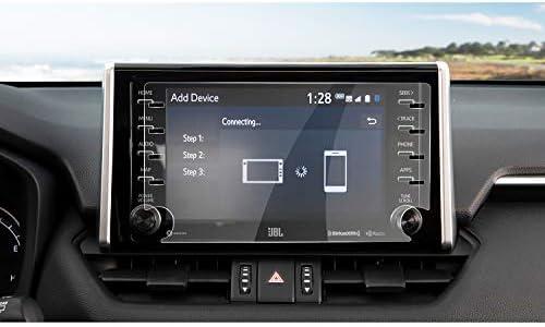 XHULIWQ カーナビゲーションスクリーンプロテクター中央制御ディスプレイスクリーン強化ガラススクリーン保護フィルム、トヨタRAV4 8インチハイマッチ用