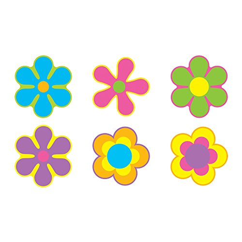 TREND enterprises, Inc. Flower Power Classic Accents Variety Pack, 36 ct
