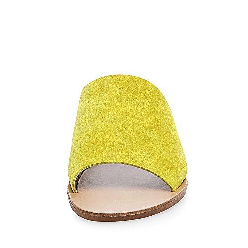 Steve Madden - Sandalias de vestir para mujer amarillo