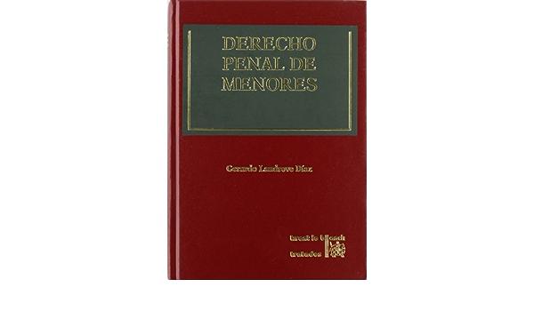Derecho Penal de Menores: Amazon.es: Gerardo Landrove Díaz ...