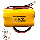 Product review for Unitech 6200RP 3.6v 900mAh Battery Replacement Exit Sign Emergency Light NiCad Lowes OSA230 Lowes 253799 Unitech AA900MAH 6200-RP Unitech LEDR-1
