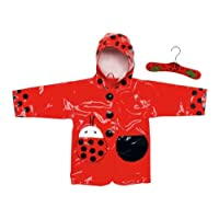 Kidorable Ladybug Rain Coat (Size 4T)