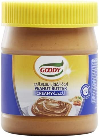 Goody Creamy Peanut Butter 340g: Buy Online at Best Price in KSA - Souq is now Amazon.sa